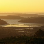 Sunset over Waiheke Island