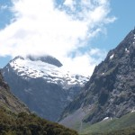on route to Milford Sound