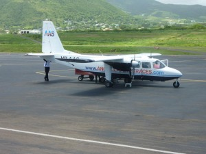 Our private charter jet from St Kitts to Anguilla