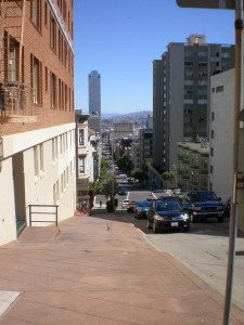 A Typical San Francisco Street