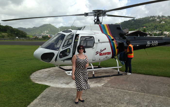 Travel blog: Arriving at Rendezvous, St Lucia in Style
