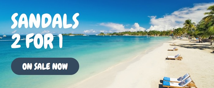 Travel blog: A Holidaymaker's Guide to the Sandals and Beaches 2 for 1 Sale
