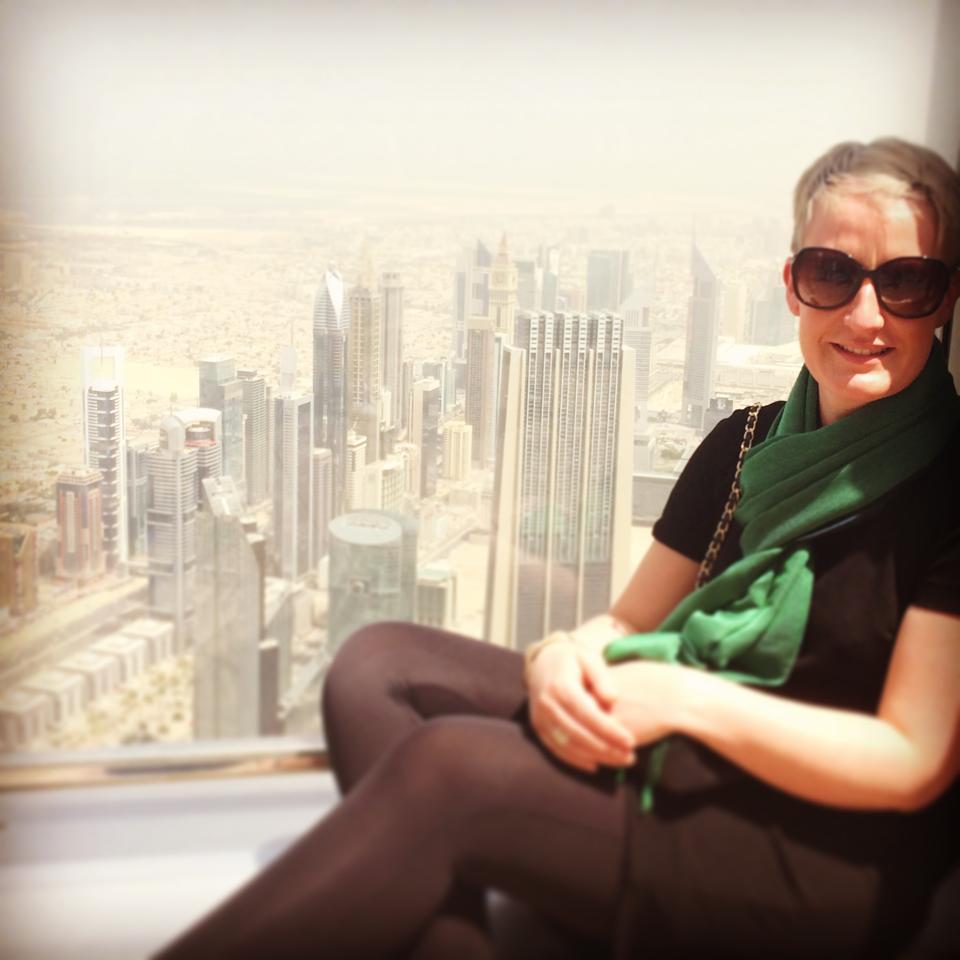 Jodie Knight - Burj Khalifa, Dubai