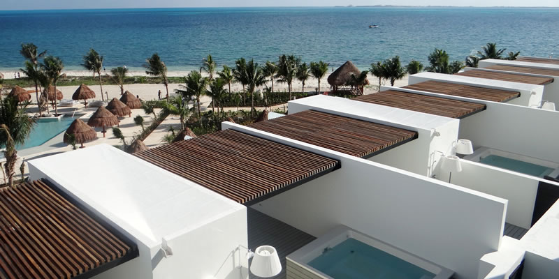 Leighton has a Special Tour of Finest Playa Mujeres, by ...