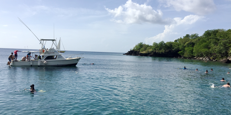 Travel blog: St. Lucia by Land & Sea, Part 2: A Sea Safari on the West Coast