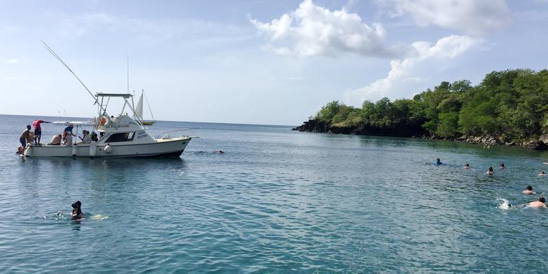 Travel blog: St. Lucia by Land & Sea, Part 2: A Sea Safari on the West Coast