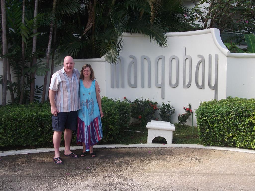 Travel blog: Martin hits the Magnificent Mango Bay