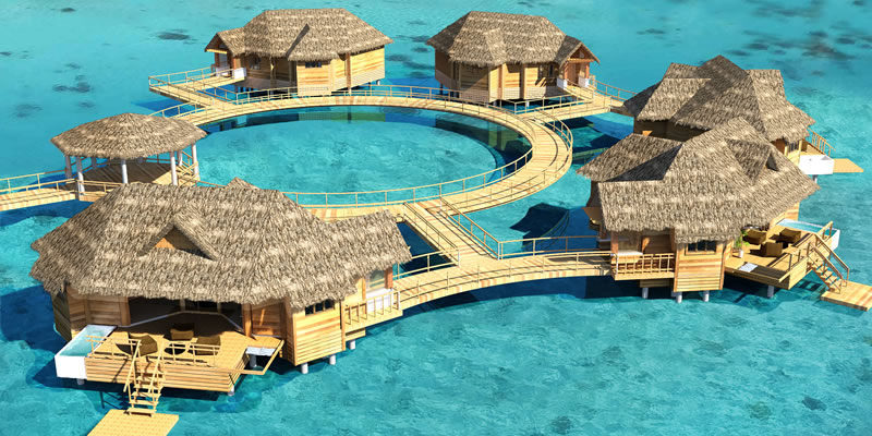 Travel blog: New Over-The-Water Villas at Sandals Royal Caribbean