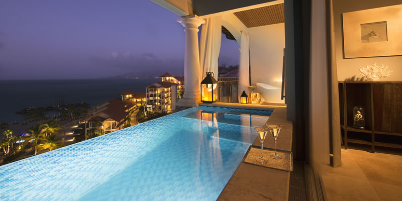 Sandals Resorts Love Nest Suites Luxury Romance And