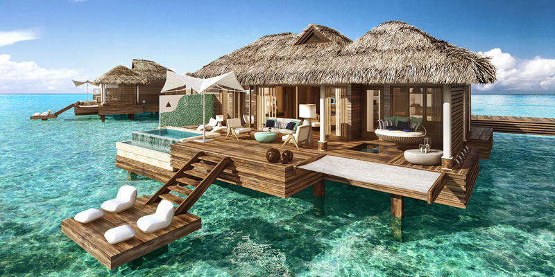 Travel blog: Sandals Resorts' Love Nest Suites: Luxury, Romance and Intimacy