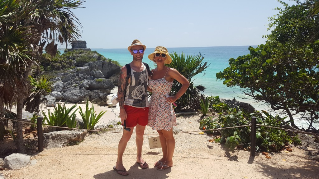 Taking in Tulum