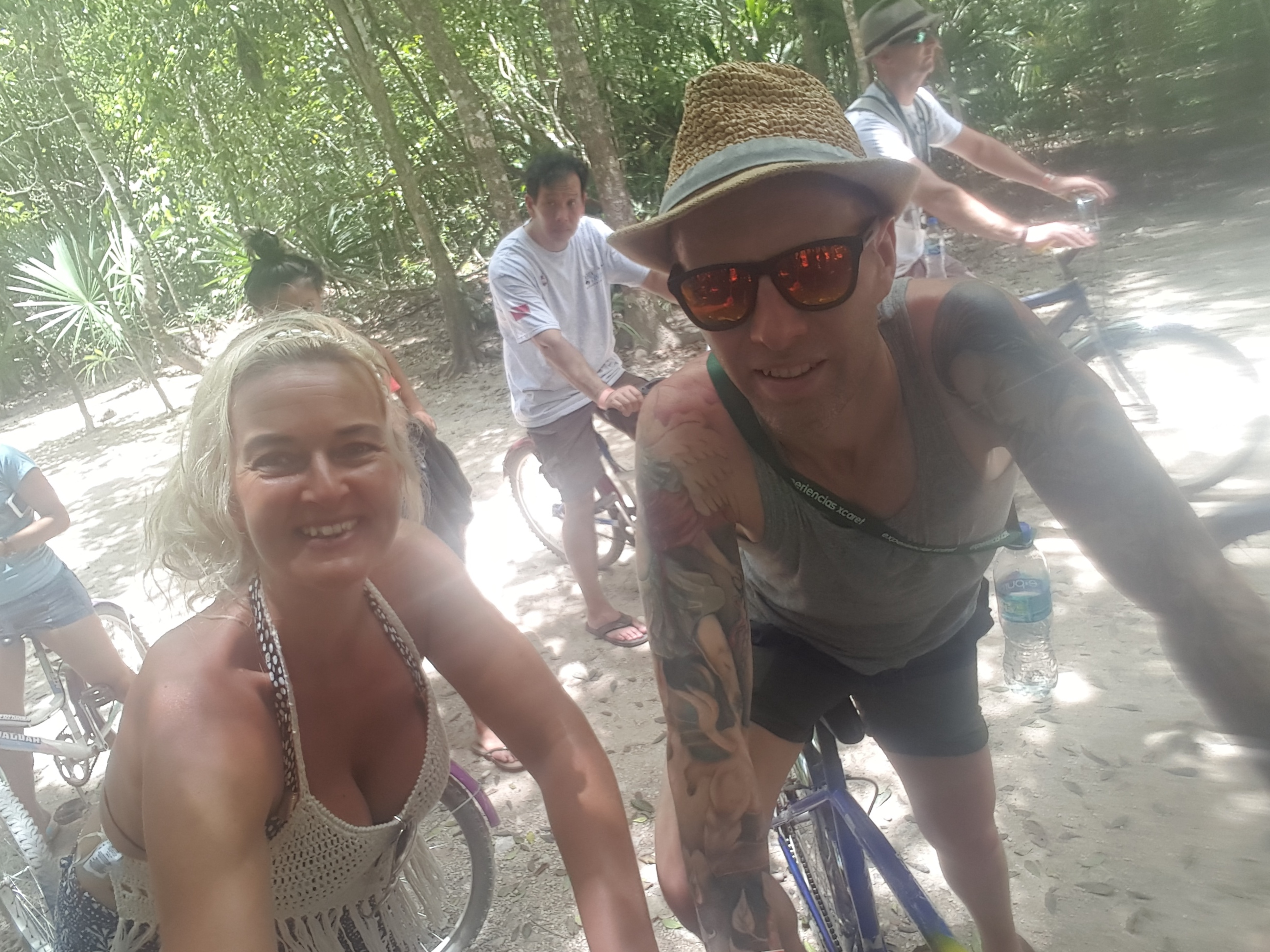 Travel blog: The Bailey's Take On Mexico: #5 Xel-Ha & Coba