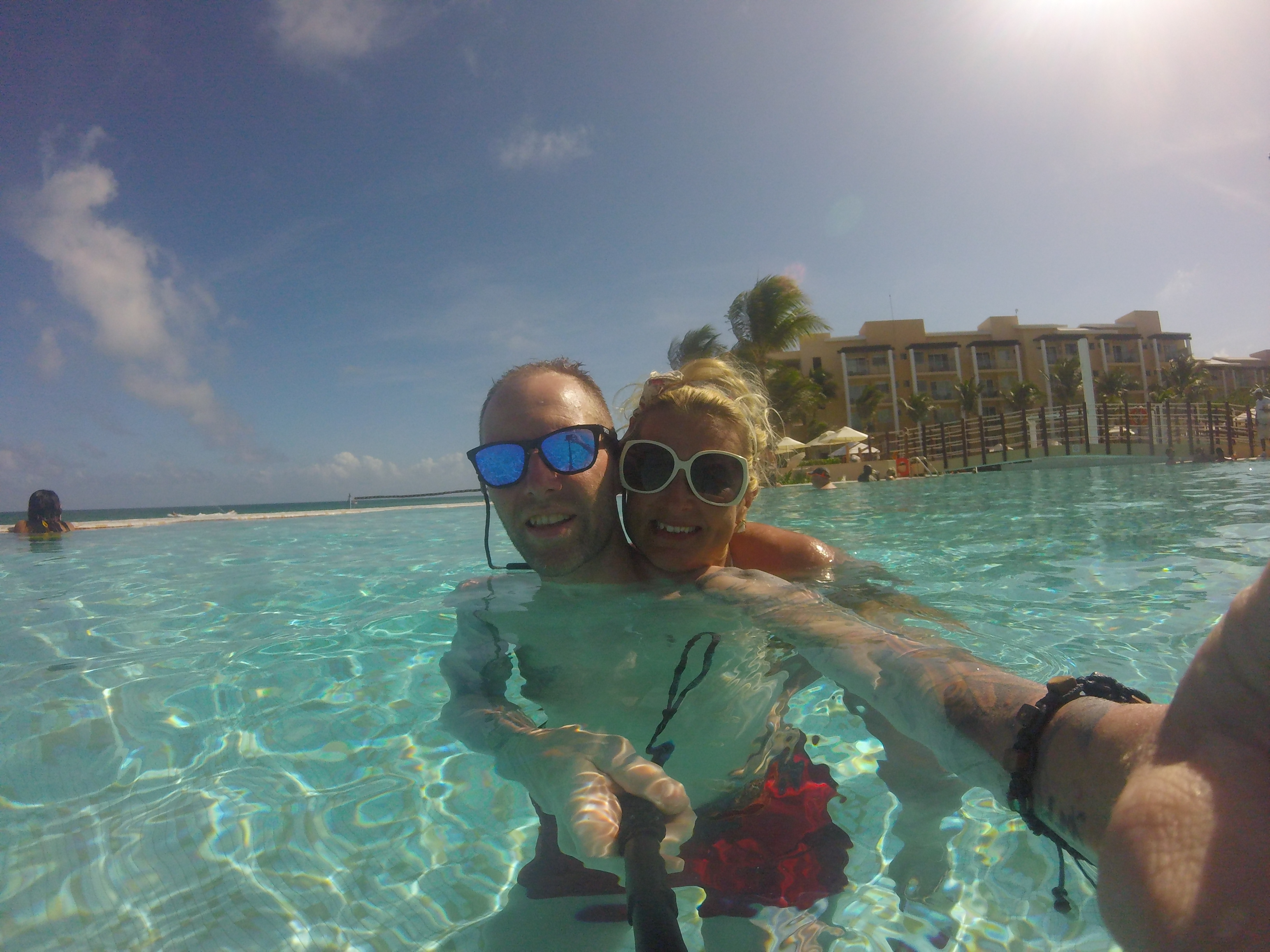 Travel blog: The Bailey's Take On Mexico: #2 Now Jade Riviera Cancun