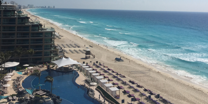 Travel blog: Abbie Soaks Up Hard Rock Hotel Cancun