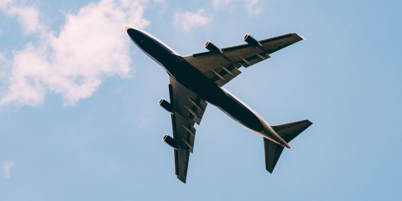 aeroplane above