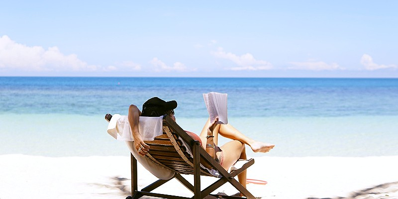 Get discounts and treats as you accrue points for lying on the beach