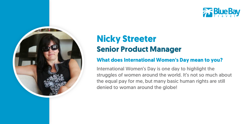 Nicky Streeter has been leading the way for our amazing Product Management team and is a phont of product knowledge for all