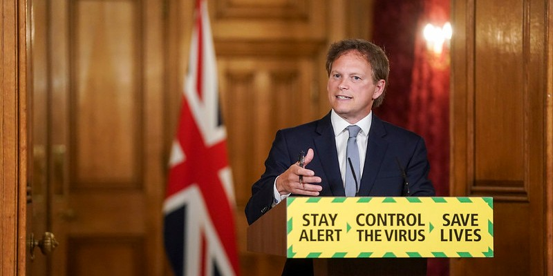 Transport Secretary Grant Shapps has been heading up the government's Global Travel Taskforce