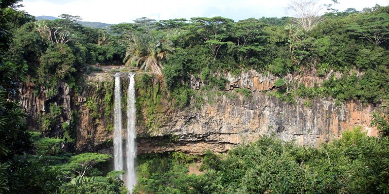 Waterfalls in Chamarel, Mauritius